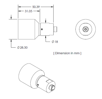Fiber Collimator Drawings